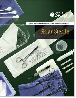 Sklar Sterile Catalog